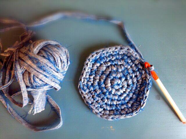 裂き編み熱ふたたび?